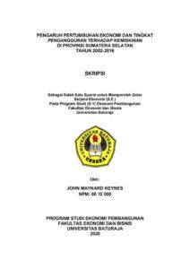 Contoh Form Cover Halaman Judul Skripsi